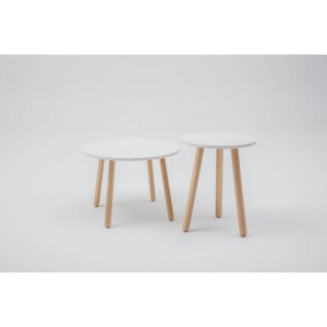 Tables w/Wooden Legs