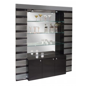 Mera Lacquer Bar Corner by Sharelle Furnishings