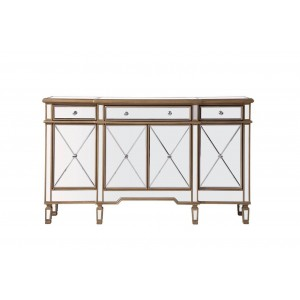 Contempo 3 Drawer 4 Door Cabinet, Composition 1