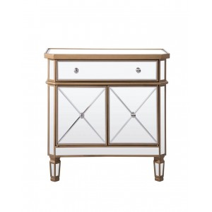 Contempo 1 Drawer 2 Door Cabinet