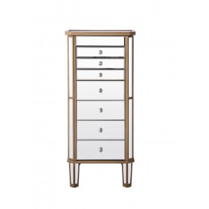 Contempo 7 Drawer Jewelry Armoire