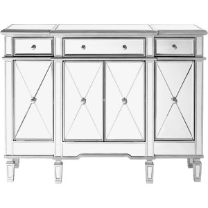Contempo 3 Drawer 4 Door Cabinet, Composition 2