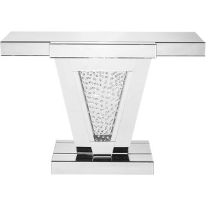 Modern Rectangle Crystal Console Table, Composition 2