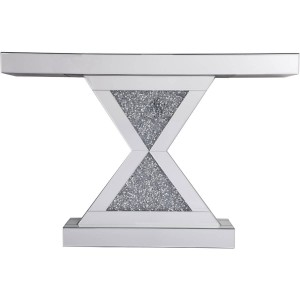"""Modern 47"""" Console Table, Composition 1"""