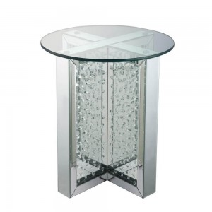 Nysa End Table, Round