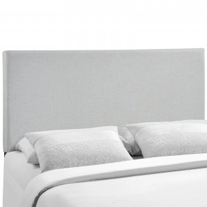 Region Queen Upholstered Headboard, Gray by Modway Furniture