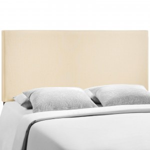 Region Queen Upholstered Headboard, Ivory by Modway Furniture