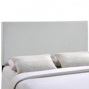 Region King Upholstered Headboard, Gray by Modway Furniture