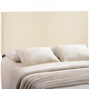 Region King Upholstered Headboard, Ivory by Modway Furniture