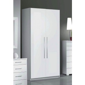 Momo Wood Wardrobe w/2 Doors