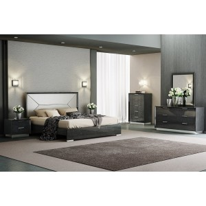 Monte Leone Panel Bedroom Set
