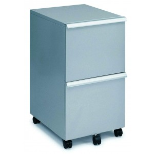 MP-05 File Cabinet, Silver by New Spec Furniture