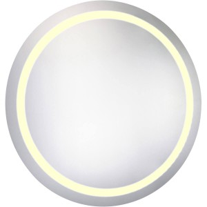 """Nova LED Hardwired 36"""" Round Dimmable Mirror"""