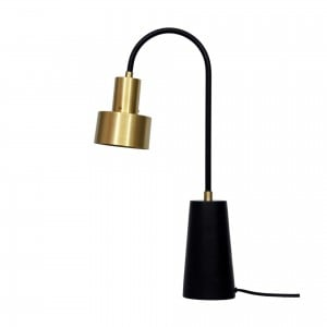 Xavier Iron/Brass Table Lamp by MOE'S