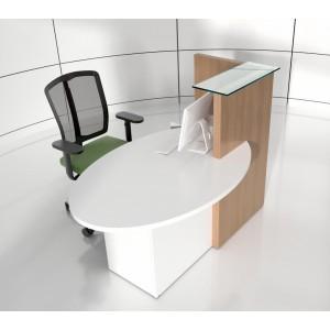 OVO Reception Desk, Right-Handed Counter