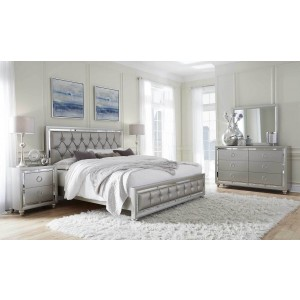 Riley Tufted Bedroom Set