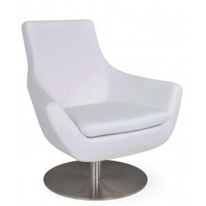 Rebecca Round Swivel Lounge Chair