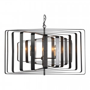 Chelsea Iron Pendant Lamp by MOE'S