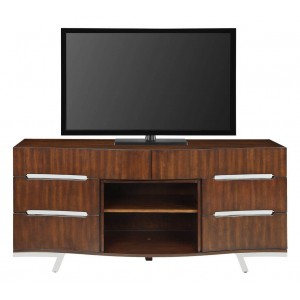 Valentina Wood Media Console by Dimplex
