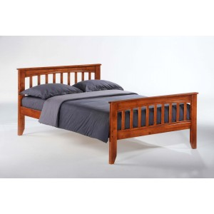 Sasparilla Wood Platform Bed, Full Size