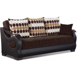 Illinois Fabric/Vinyl/Wood Storage Sofabed