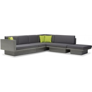 Sancho Fabric Modular Sectional with Coffee Table