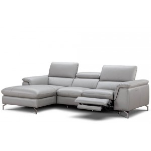 Serena Premium Reclining Leather Sectional