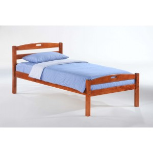 Sesame Wood Platform Bed