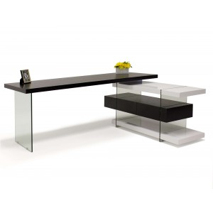 Seville Lacquer Desk by Sharelle Furnishings