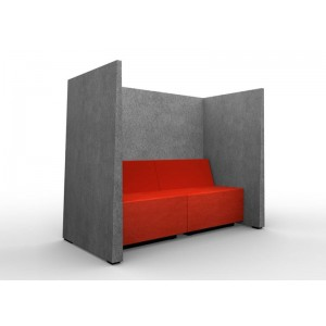 Jazz Silent Box with 3Acoustic Walls, MDF Legs by NARBUTAS