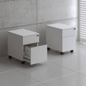 Standard SLD12 Mobile Pedestal w/Files Drawer by MDD Office Furniture