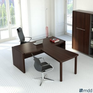 Status Executive Composition 1, Chestnut by MDD Office Furniture