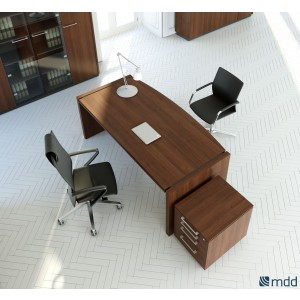 Status Executive Composition 3, Lowland Nut by MDD Office Furniture