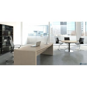 Status Executive Composition 4, Canadian Oak by MDD Office Furniture