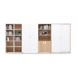 "Choice 5H (70"" Height) Customizable Storage System"