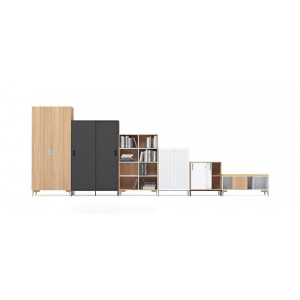 "Choice 2H (28.3"" Height) Customizable Storage System"