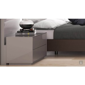 NS-102 Two Drawer Nightstand