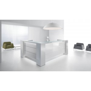 VALDE L Shaped Reception Desk