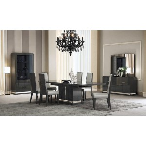 Valentina Modern Dining Room Set with Extendable Table
