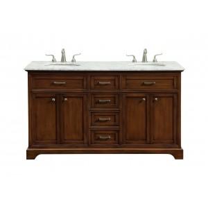 "Americana 60"" Double Bathroom Vanity Set"