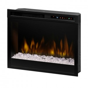 "Acrylic Ice Multi-Fire XHD™ 23"" Plug-in Electric Firebox"