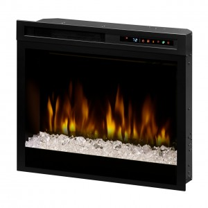 "Acrylic Ice Multi-Fire XHD™ 28"" Plug-in Electric Firebox"
