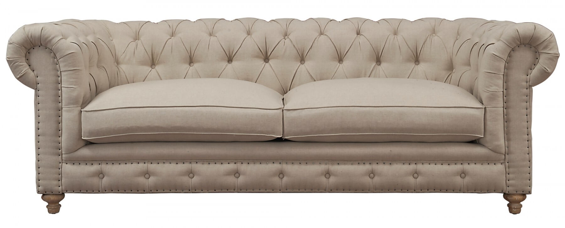 Oxford Beige Linen Sofa By Tov Furniture Online At Best Price Sod