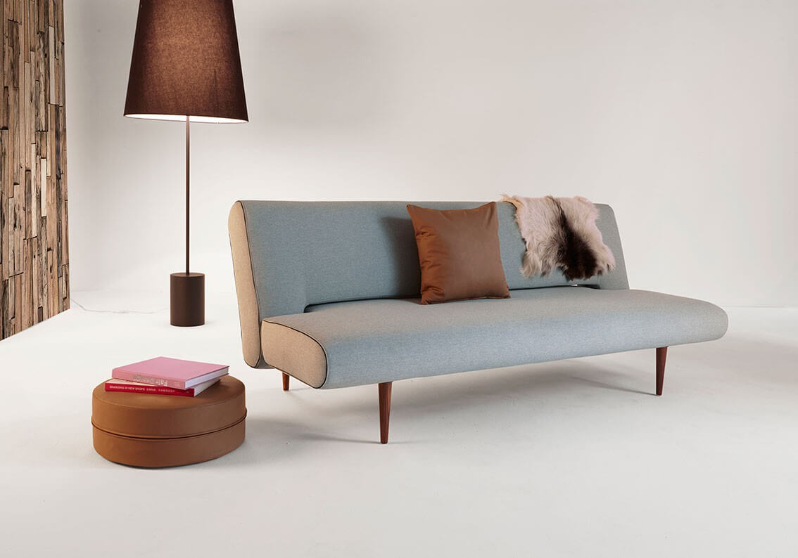 Unfurl Sofa Bed, 552 Soft Pacific Pearl Fabric Buy Online At Best Price    SohoMod