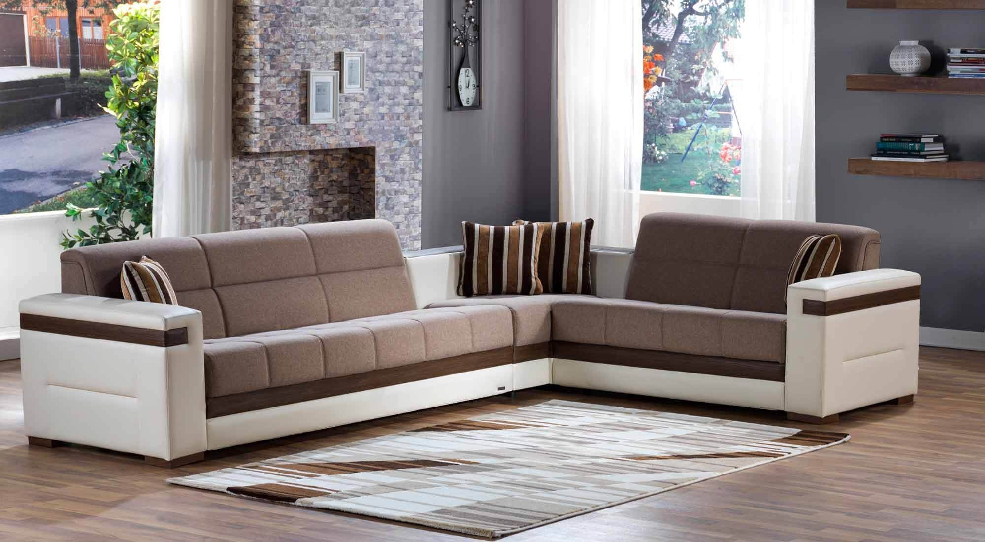 Moon Sectional, Platin Mustard Buy Online At Best Price   SohoMod