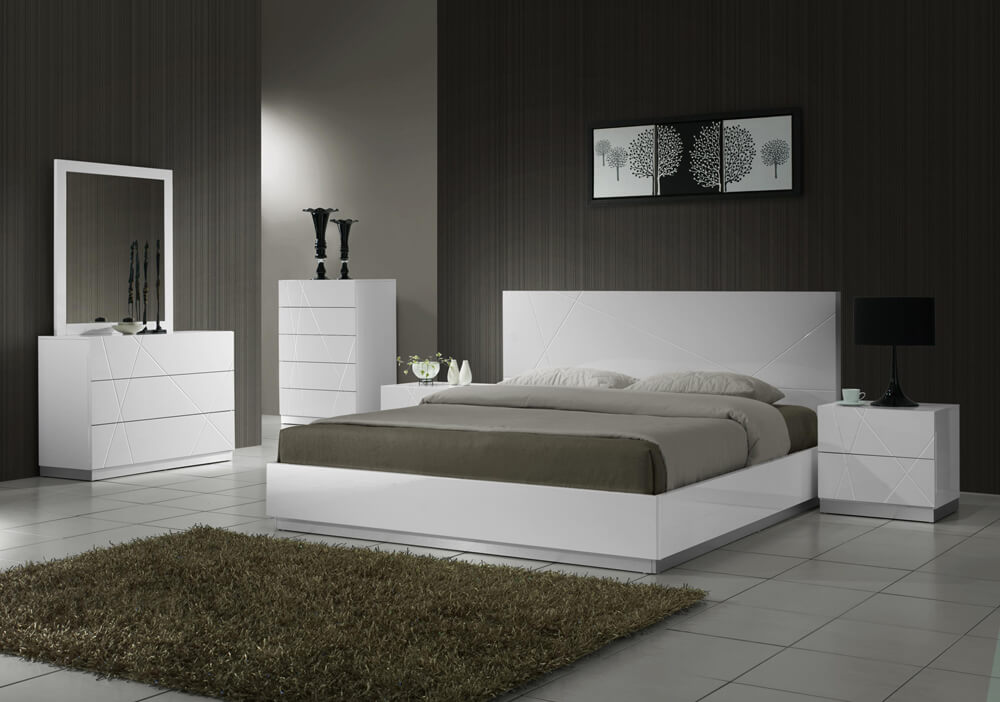 Naples Bedroom Set Buy Online At Best Price   SohoMod