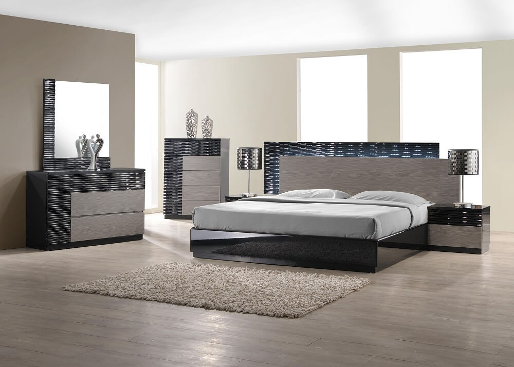 roma bedroom set buy online at best price sohomod - King Bed Bedroom Sets