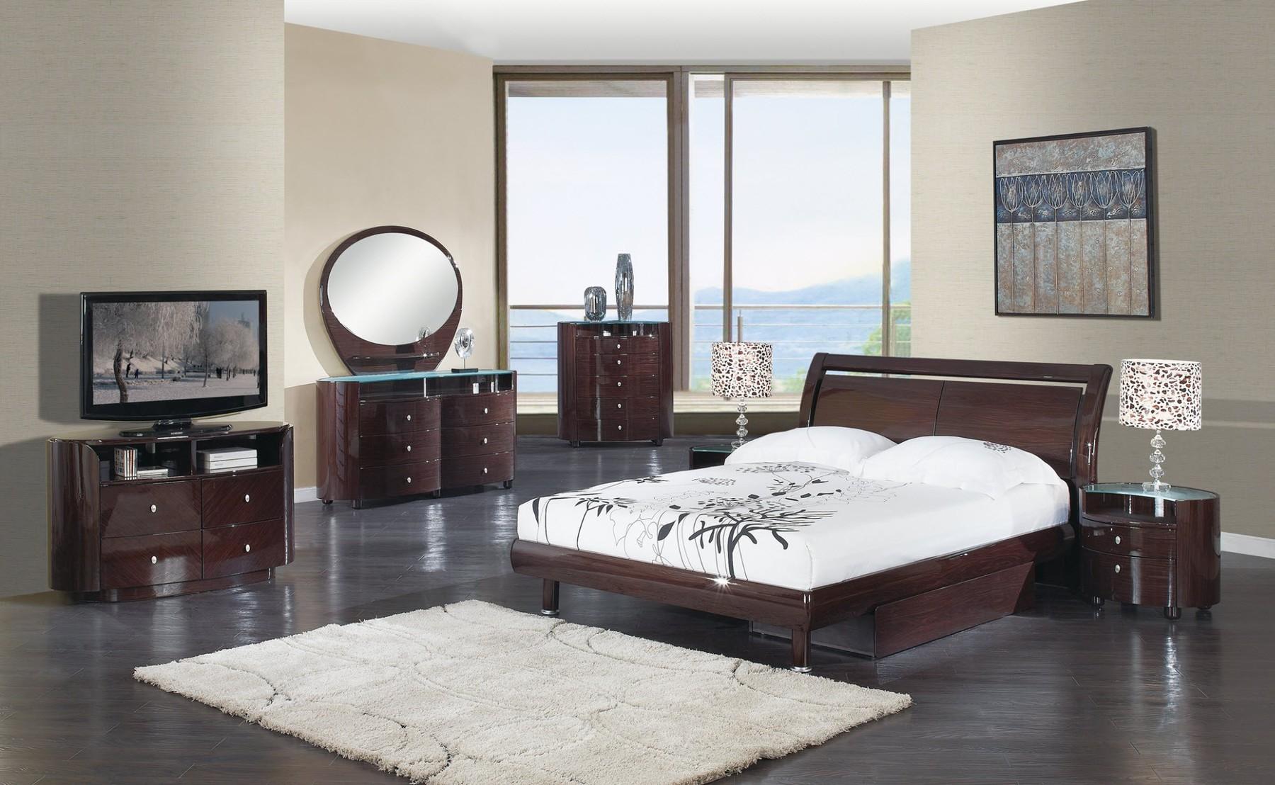 Emily Bedroom Set, White Buy Online At Best Price   SohoMod