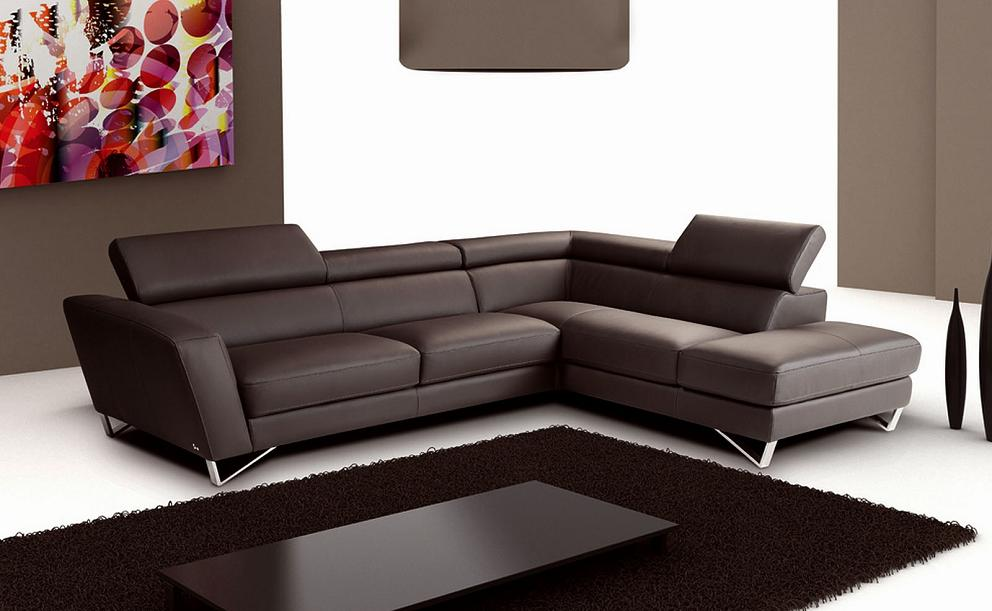 Expresso Chocolate : leather sectional brown - Sectionals, Sofas & Couches