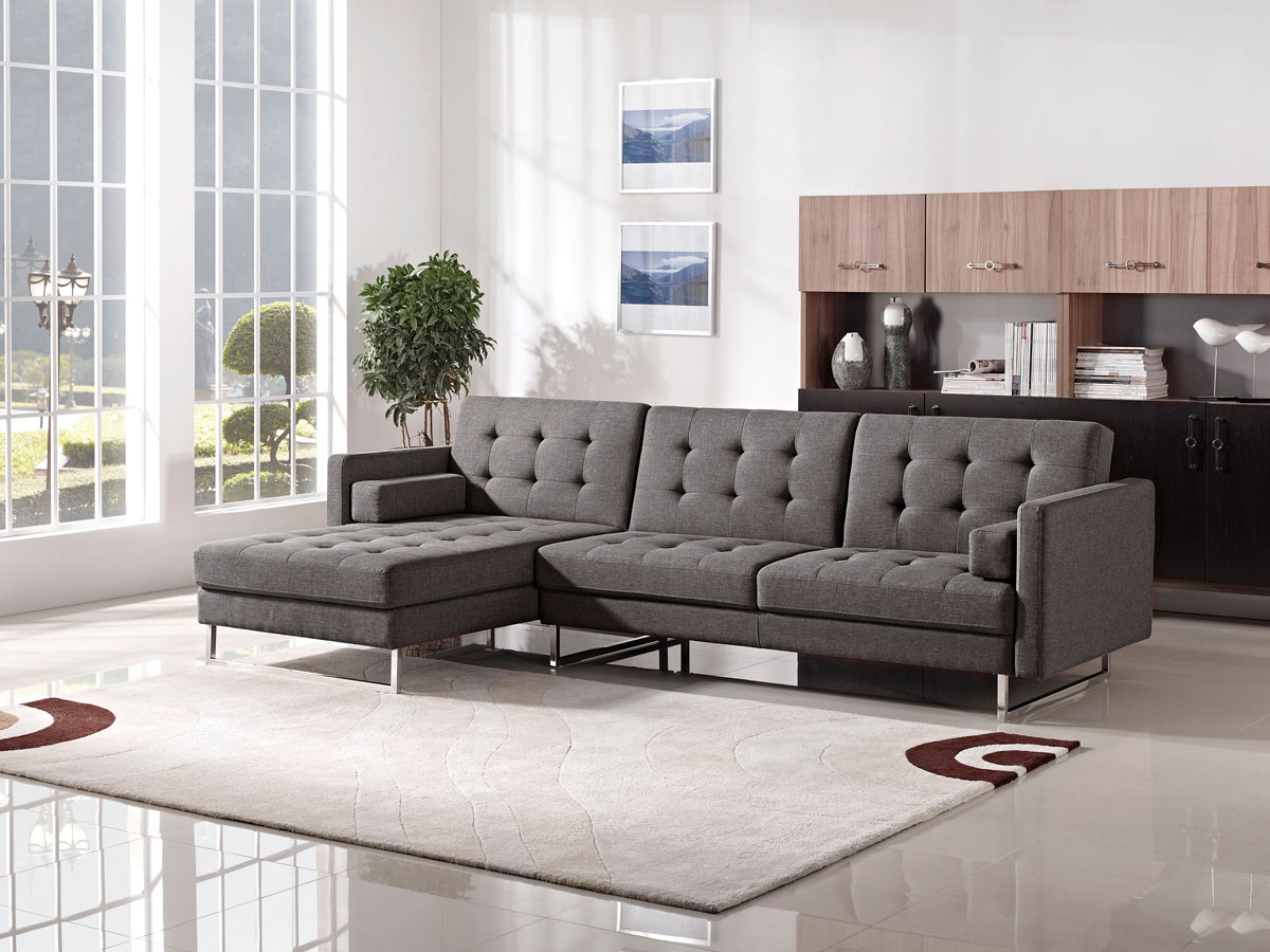 1471 Sleeper Sectional Right Arm Chaise Facing By Esf